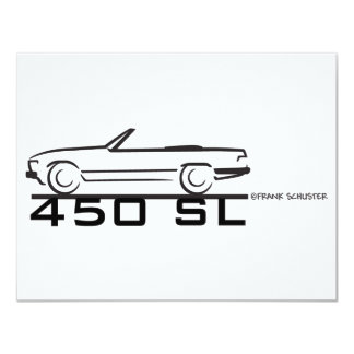 Mercedes 450SL Convites