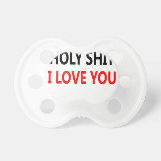 Merda santamente eu te amo (1) chupeta