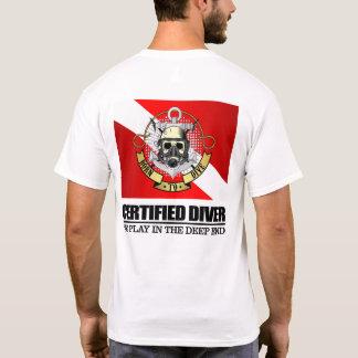 Mergulhador certificado (BDT) Camiseta