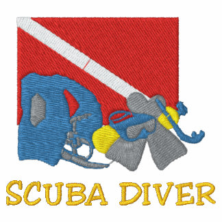 Mergulhador de MERGULHADOR bordado Jaquetas