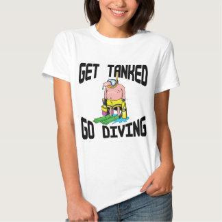 Mergulho autónomo muito engraçado tshirts