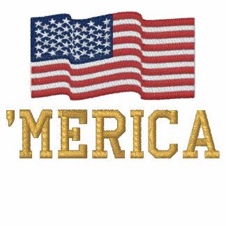 'MERICA EUA Stars 'o bordado da BANDEIRA das
