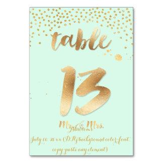 Mesa 13 de PixDezines+cor do ouro sprinkles/DIY de