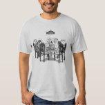 Mesa do póquer de Memes comigo cara aprovada etc. T-shirts