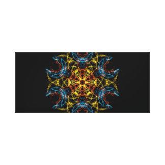 Mesa estrangeira impressão de canvas esticadas