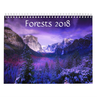 Meses do calendário das florestas 2018 - 12