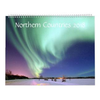 Meses do norte do calendário dos países 2018 - 12