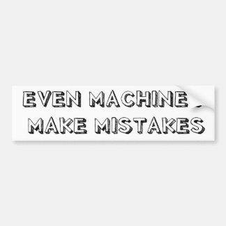 Mesmo as máquinas fazem o autocolante no vidro tra adesivos