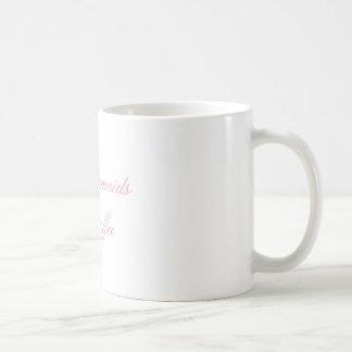 mesmo as sereias precisam a caneca de café
