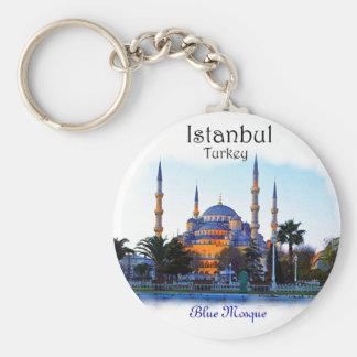 Mesquita azul Istambul Chaveiro