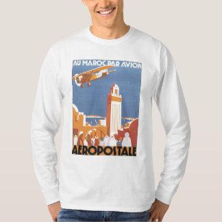 Mesquita de Marrocos Aeropostale do vintage Camiseta