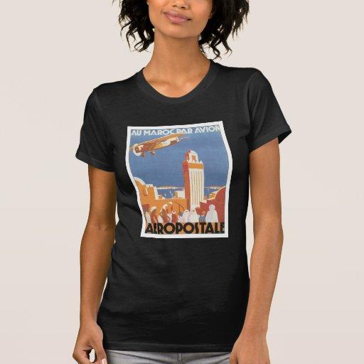 Mesquita de Marrocos Aeropostale do vintage Tshirt
