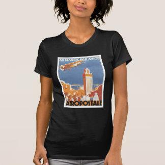 Mesquita de Marrocos Aeropostale do vintage T-shirts