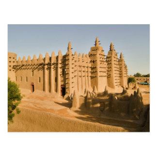Mesquita em Djenne, um exemplo clássico de Cartão Postal