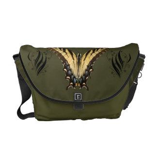 Messengerbag oriental da borboleta de Swallowtail  Bolsas Mensageiro