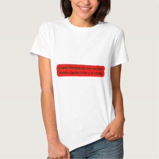 Mestre 13,05 de Frases T-shirt