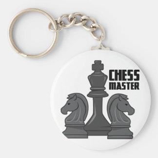 Mestre da xadrez chaveiro
