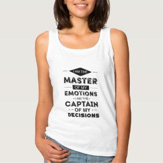 Mestre de minhas emoções regata