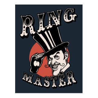 Mestre do anel cartão postal