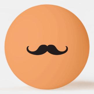 Mestre do bigode do disfarce bola para ping-pong