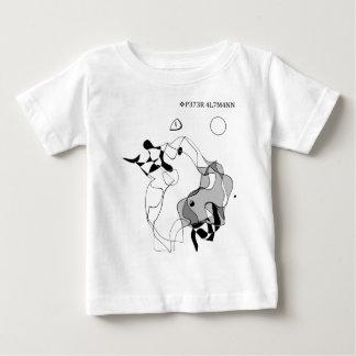 Mestre e Margarita Camiseta Para Bebê
