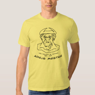 Mestre João Pequeno de Pastinha Camisetas