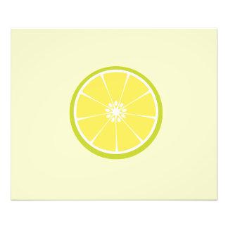 metade de um limão impressão de foto