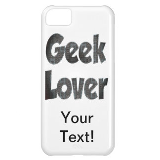 Metal do amante do geek capa para iPhone 5C