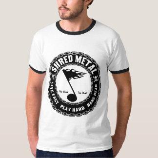 Metal do fragmento camiseta
