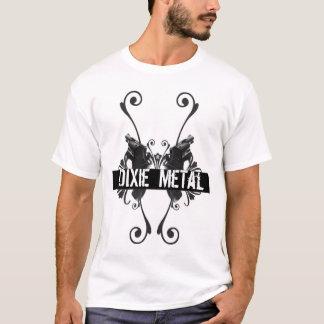 MeTalT-Camisa de DiXie Camiseta