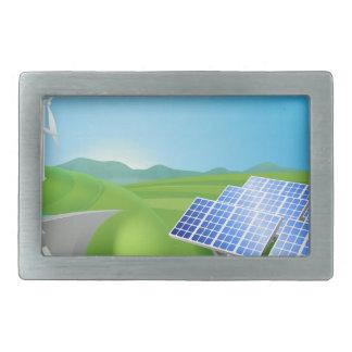 Métodos da produção de energia renovável ou de