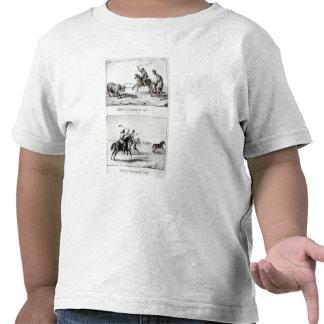 Métodos de jogar o laço e os Bolas Tshirt