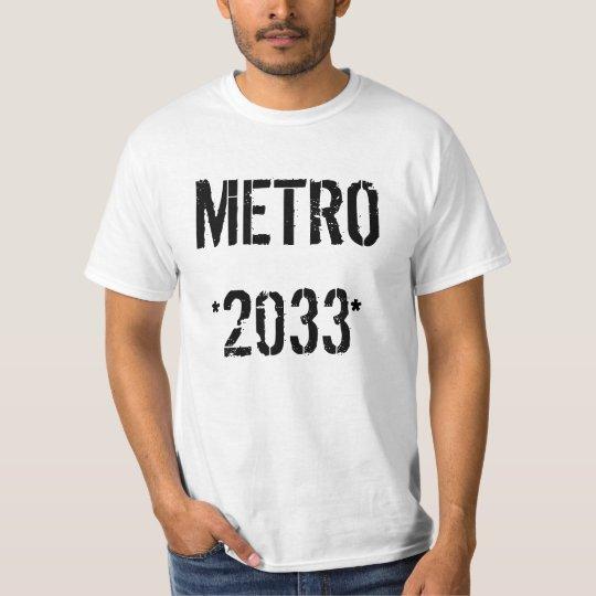 METRO 2033 CAMISETA