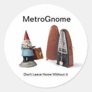 MetroGnome Adesivo