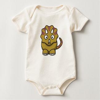 Meu amigo do dinossauro - Bodysuit orgânico do Body Para Bebê