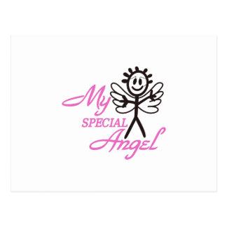 Meu anjo especial cartão postal