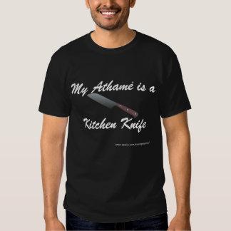 Meu Athamé é uma faca de cozinha T-shirts