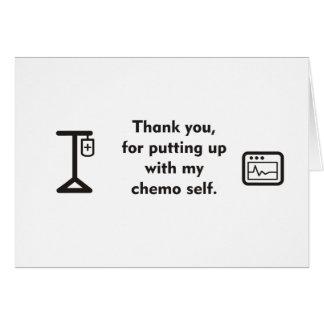Meu auto de Chemo Cartão Comemorativo