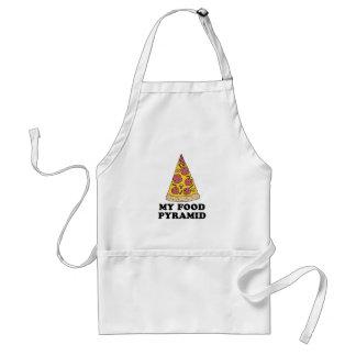 Meu avental dos desenhos animados da pizza da