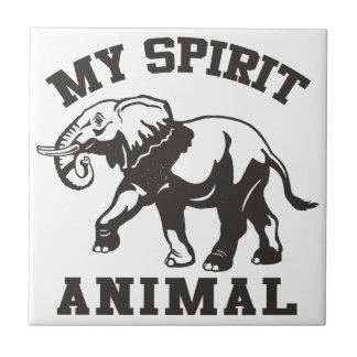 Meu azulejo cerâmico animal da foto do espírito