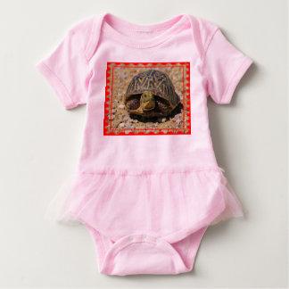 MEU Bodysuit do tutu do bebê da tartaruga Body Para Bebê