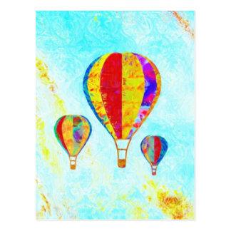 Meu cartão bonito dos balões