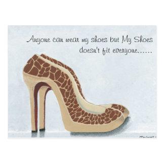 Meu cartão dos calçados