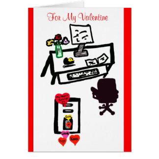 Cartão Meu cartão dos namorados