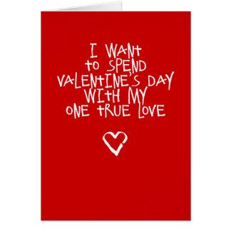 Meu cartão engraçado do dia dos namorados do amor