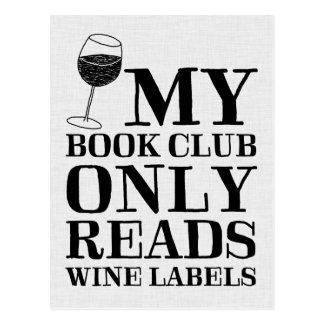 Meu clube de leitura lê somente o cartão das