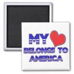 Meu coração pertence a América Ima