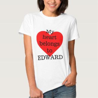 Meu coração pertence a Edward Tshirt