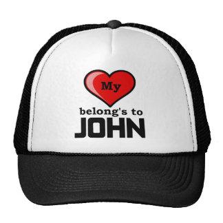 Meu coração pertence a John Bonés
