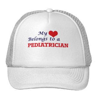 Meu coração pertence a um pediatra boné